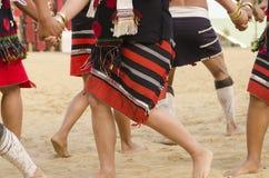 跳舞部族 免版税库存照片