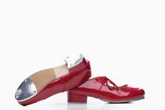 跳舞鞋子 免版税库存图片