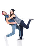 跳舞 免版税图库摄影