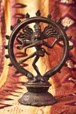 跳舞shiva雕象 库存照片