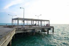 跳船的建造场所 免版税库存照片