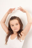 跳芭蕾舞者一点 免版税图库摄影