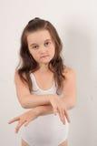 跳芭蕾舞者一点 免版税库存照片