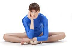 跳芭蕾舞者女性 免版税库存图片