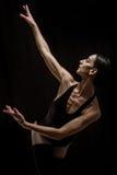 跳芭蕾舞者摆在 图库摄影