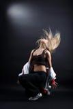 跳芭蕾舞者现代妇女 免版税库存图片