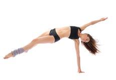 跳芭蕾舞者现代跳舞的爵士乐减肥 免版税库存照片