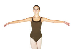 跳芭蕾舞者年轻人 库存照片