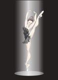 跳芭蕾舞者 免版税库存图片