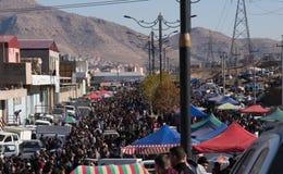 跳蚤市场在伊拉克 免版税库存照片
