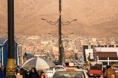 跳蚤市场在伊拉克 库存照片