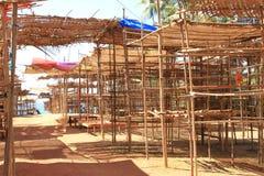 跳蚤市场在印度 库存图片
