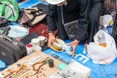 跳蚤市场在吉隆坡,马来西亚 库存照片