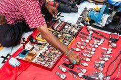 跳蚤市场在吉隆坡,马来西亚 库存图片