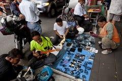 跳蚤市场在曼谷 库存照片