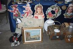 跳蚤市场在米兰 库存照片