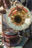 跳蚤市场在萨格勒布,克罗地亚 免版税库存照片