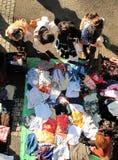 跳蚤市场在Harajuku日本 库存照片