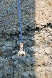 跳跃在俄勒冈的橡皮筋 免版税图库摄影