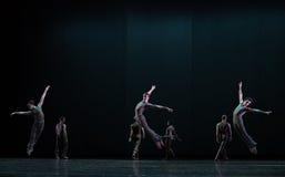 跳跃高度古典芭蕾` Austen汇集` 库存照片