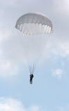 跳降伞 图库摄影