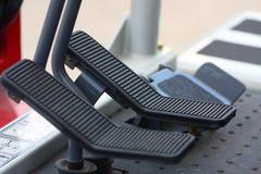 踩的踏板通信工具 免版税库存照片