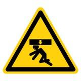 身体击碎力量从标志标志,传染媒介例证,在白色背景标签的孤立上 EPS10 向量例证