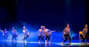 身体训练路线教室校园舞蹈 免版税库存照片