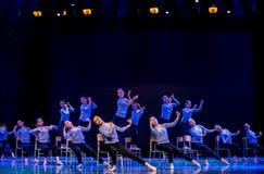 身体训练路线教室校园舞蹈 免版税库存图片