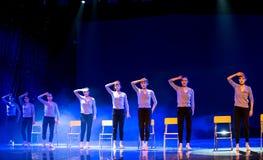 身体训练路线教室校园舞蹈 库存照片