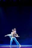 身体绘画现代舞蹈 库存照片