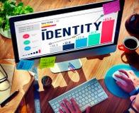 身分名字个性商标品牌概念 库存照片