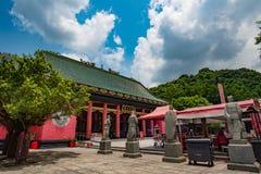 车公Kung寺庙在香港 库存图片