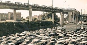 车商中心 免版税库存图片