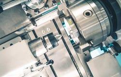 车床金属制品产业 库存图片