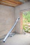 车库门设施 干净的集合执行整个停车库有重要安装安装推力推力多数马达没有一分开过帐铁路运输弹簧收紧非常衡量的门 库存图片