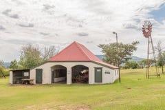 车房,在塔拉纳博物馆,邓迪的一个历史建筑 免版税库存照片