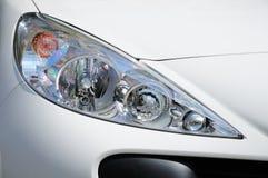 车灯。 免版税库存照片