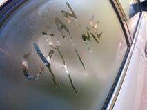 车窗 免版税图库摄影