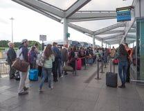 车站在斯坦斯特德 免版税库存图片