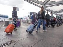 车站在斯坦斯特德 图库摄影