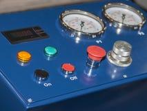 车系统维护的设备  库存图片