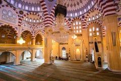 车臣的清真寺心脏 免版税库存图片
