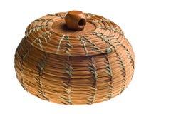 车落基印第安人的篮子 图库摄影