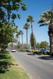 车行道在珀斯 免版税库存图片