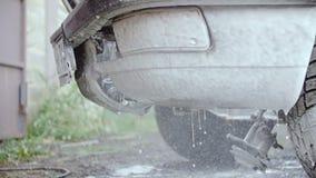 车身用泡沫洗涤的解答层数报道 股票视频