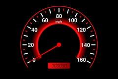 车速表 向量例证