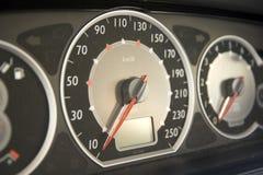 车速表 免版税图库摄影