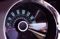 车速表 免版税库存图片