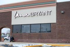 车道布耐恩特, Ypsilanti,有700家商店 免版税库存图片